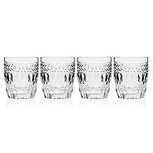 Symphony Crystal Double Old Fashioned Glasses (Set of 4)