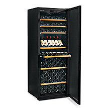 EuroCave Performance 283 Wine Cellar (Black - Left Hinged Mirrored Door) (Outlet A)