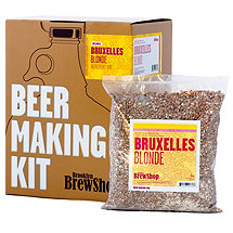 Brooklyn Brew Shop Beer Making Kit (Bruxelles Blonde)