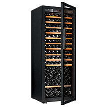 EuroCave Pure L Wine Cellar Black Full Glass Door