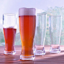 Indoor/Outdoor Lager Glasses (Set of 4)