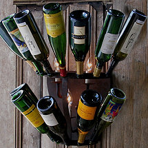 Luce De Vino Wine Bottle Sconce