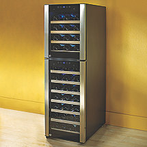 53-Bottle Evolution Series Dual Zone Wine Refrigerator (Outlet)