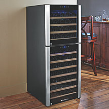 73-Bottle Evolution Series Dual Zone Wine Refrigerator (Outlet)