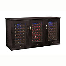 Trilogy Wine Cellar Credenza (Espresso) (Outlet)