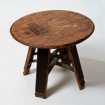 Short Stave Wine Barrel Table