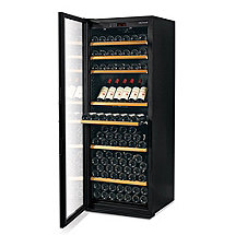 EuroCave Performance 283 Wine Cellar (Black - Left Hinged Glass Door) (Outlet D)