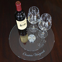 Personalized Glass Lazy Susan