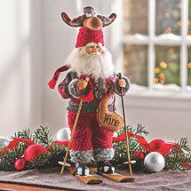 Karen Didion Moose Hat Ski Santa