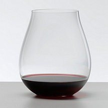 Riedel Big O Pinot Noir Stemless Wine Glasses