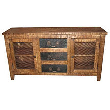 Napa 3 Drawer Buffet Table
