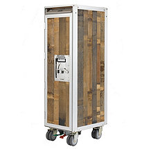 Skypak Airline Reclaimed Trolley Beverage Cart