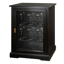 Siena Single Wine Credenza (Nero)