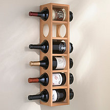 6 Bottle Wine Rack (Natural)