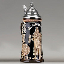 Gambrinus Beer Stein