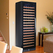 Wine Enthusiast 170 Bottle Single Zone Wine Cellar (Full Glass Door with Left Hinge)