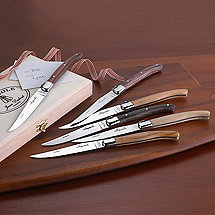 Laguiole Mixed Woods 6 Piece Knife Set