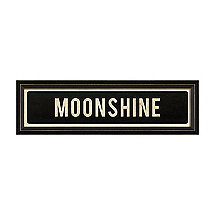 Moonshine Street Sign