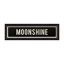 Moonshine Street Sign