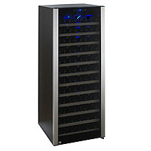 80-Bottle Evolution Series Wine Refrigerator (Glass Door with Stainless Steel Trim)