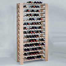 Swedish 126 Bottle Wine Rack (White Wash)