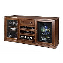 Siena Wine Credenza with Evolution Series Beverage Center