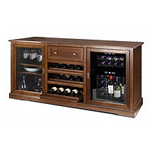 Siena Wine Credenza with 24 Bottle Touchscreen Wine Refrigerator