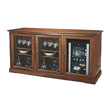 Siena Triple Wine Credenza with Evolution Series Beverage Center