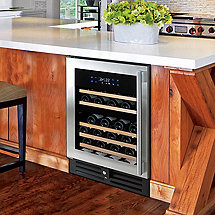N'FINITY PRO HDX 46 Dual Zone Wine Cellar (Stainless Steel Door) (Left Hinge)
