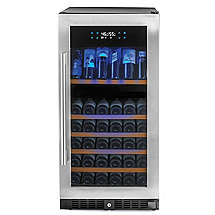 N'FINITY PRO HDX 94 Dual Zone Wine Cellar (Stainless Steel Door)