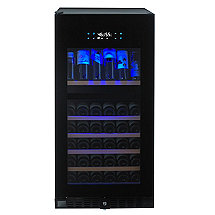 N'FINITY PRO HDX 94 Dual Zone Wine Cellar (Full Glass Door) (Left Hinge)