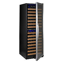 Wine Enthusiast Classic 166 Dual Zone Wine Cellar