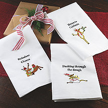 Reindeer Towels (Set of 3)