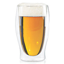 Steady-Temp Double Wall Beer Glasses (Set of 4)