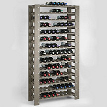 Swedish 126 Bottle Wine Rack (Stone Gray)