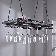 Metal Hanging Wine Glass Rack