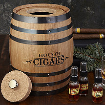 Personalized Cigar Infusion Barrel Humidor