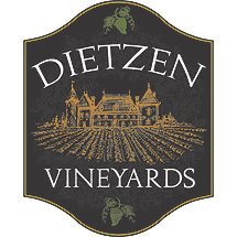 Personalized Vineyard Sign (Black)