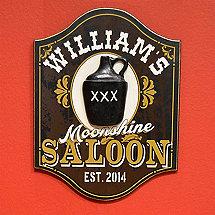 Personlalized Moonshine Saloon with Jug