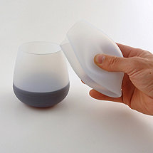 Silicone Wine Tumblers (Set of 2)