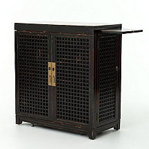 Lattice Wine Bar (Black)
