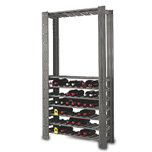 Swedish Wine Center Wine Rack (Stone Gray)