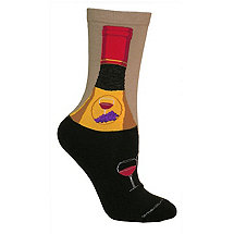 Women's Wine Bottle Socks