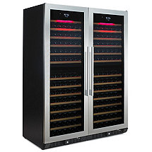 N'FINITY PRO HDX 374 Double Door Wine Cellar (Stainless Steel Door)