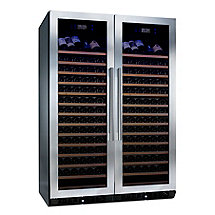 N'FINITY PRO HDX  RED Double Door Wine Cellar (Stainless Steel Trim)