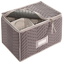 Microfiber Wine Goblet Storage Chest