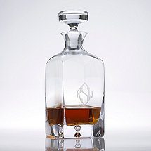 Monogrammed Lexington Whiskey Decanter