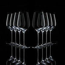 Fusion Air Universal Wine Glasses Bonus Pack (Set of 6 + 2 Free)