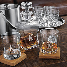 Personalized Tribeca 7 Piece Whiskey Set
