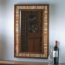 Wine Cork Kit Mirror